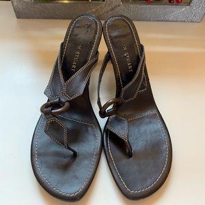 🌈Colin Stuart Brown Leather Sandals